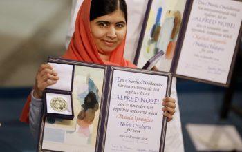 Malala Yousafzai, Peraih Nobel Perdamaian Termuda Di Dunia