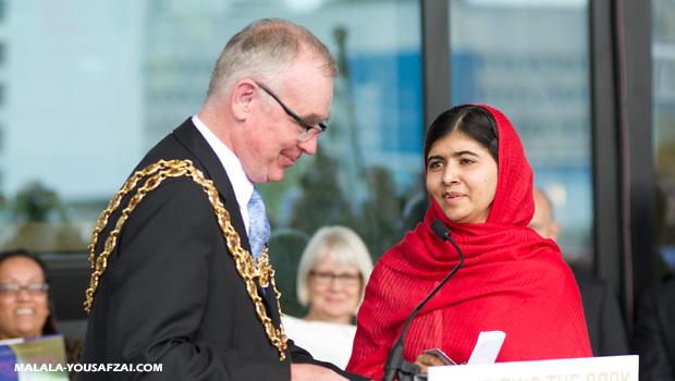 Birmingham telah menjadi rumah kedua Bagi Malala Yousafzai