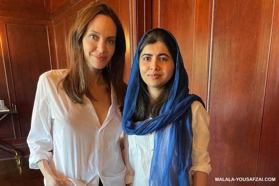 Malala Yousafzai memuji buku Angelina Jolie tentang hak-hak anak