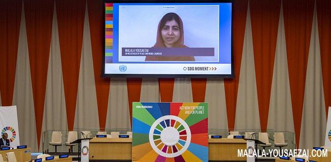 Malala serukan PBB dukung anak perempuan di Afghanistan Untuk Bersekolah