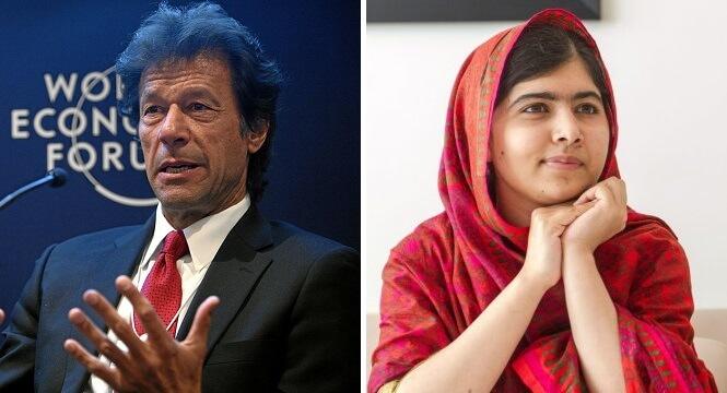 Kali Ini Malala Yousafzai memuji Imran Khan karena membela pendidikan anak perempuan